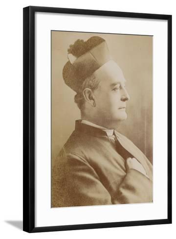 Father Vaughan--Framed Art Print