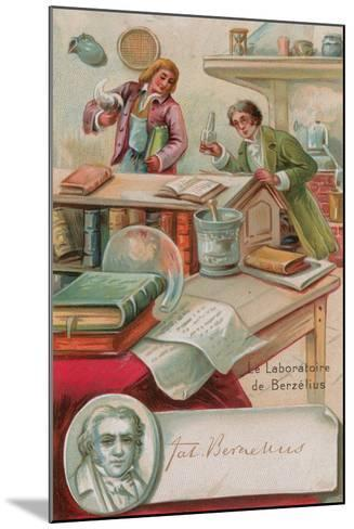 The Laboratory of Berzelius--Mounted Giclee Print