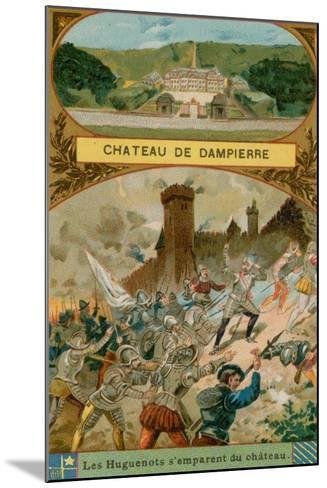 Chateau De Dampierre--Mounted Giclee Print