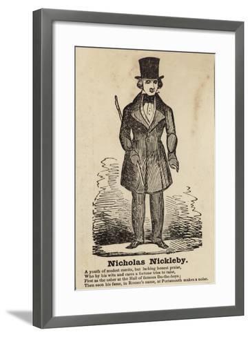 Nicholas Nickleby--Framed Art Print