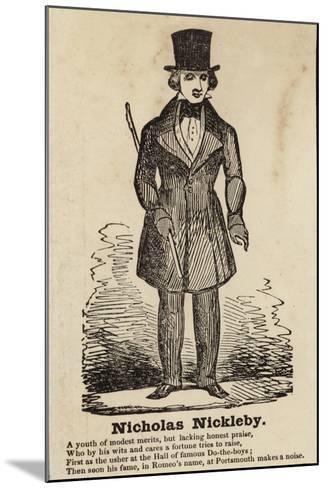 Nicholas Nickleby--Mounted Giclee Print