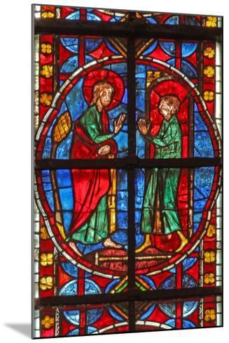 Window W210 Depicting St James and the Magician Hermogenes' Apprentice Philetus--Mounted Giclee Print