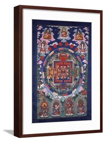 Thangka Mandala--Framed Art Print