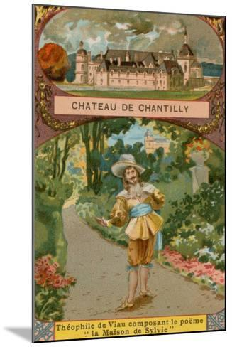 Chateau De Chantilly--Mounted Giclee Print