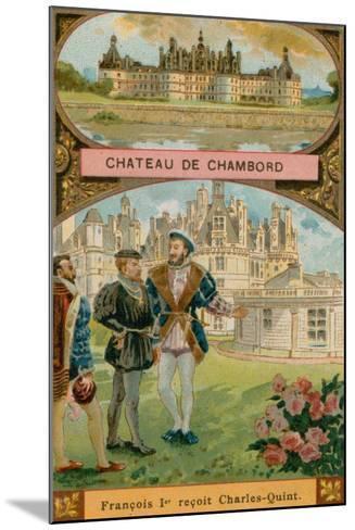 Chateau De Chambord--Mounted Giclee Print