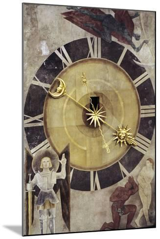Astronomical Dial, Clock Tower--Mounted Giclee Print
