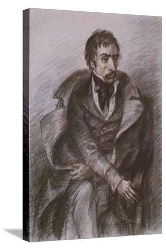 Wilhelm Kuechelbecker, Russian Poet and Decembrist Rebel--Stretched Canvas Print