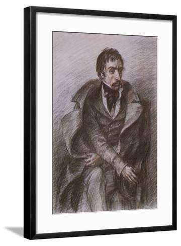 Wilhelm Kuechelbecker, Russian Poet and Decembrist Rebel--Framed Art Print