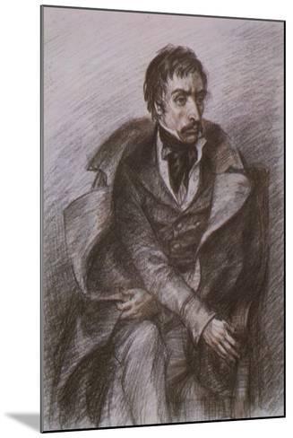 Wilhelm Kuechelbecker, Russian Poet and Decembrist Rebel--Mounted Giclee Print