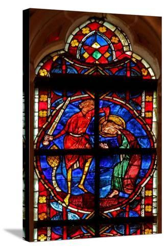 Window W210 Depicting the Martyrdom of St James--Stretched Canvas Print