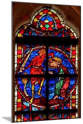 Window W210 Depicting the Martyrdom of St James--Mounted Giclee Print