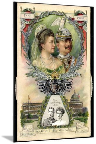 Mechanik Kaiserpaar, Preußen, Wilhelm II, Prinzen--Mounted Giclee Print