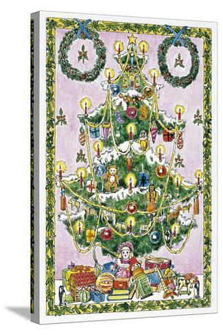 Christmas Tree--Stretched Canvas Print