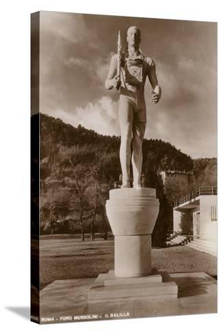 Il Balilla, Foro Mussolini, Rome--Stretched Canvas Print