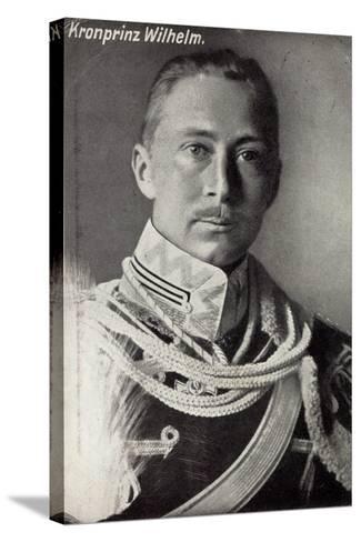 Kronprinz Friedrich Wilhelm Von Preußen, Uniform--Stretched Canvas Print