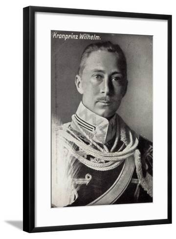 Kronprinz Friedrich Wilhelm Von Preußen, Uniform--Framed Art Print