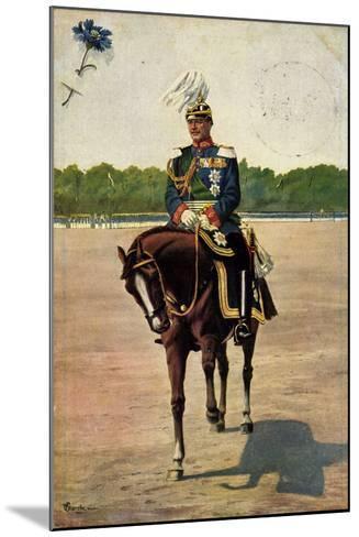Künstler Starcke, König Friedrich August III, Pferd--Mounted Giclee Print