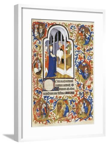 France, the Purification, Miniature from the Manuscript Breviary 469--Framed Art Print