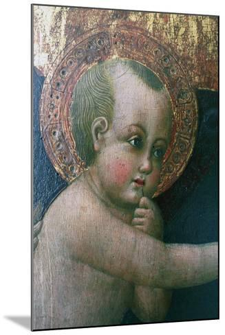 Madonna and Child known as Madonna of Cherries--Mounted Giclee Print