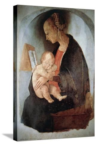 Madonna and Child, Ca 1498--Stretched Canvas Print