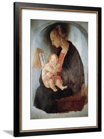 Madonna and Child, Ca 1498--Framed Art Print
