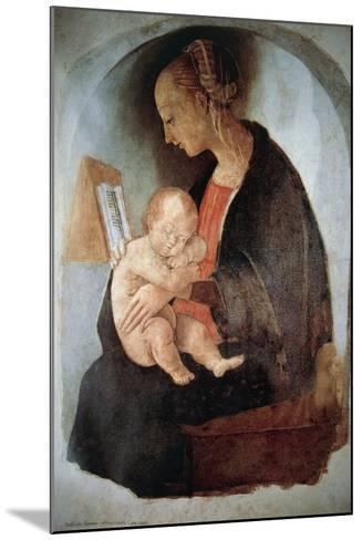 Madonna and Child, Ca 1498--Mounted Giclee Print