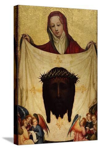 Master of Saint Veronica, St. Veronica with the Holy Kerchief. C. 1420--Stretched Canvas Print