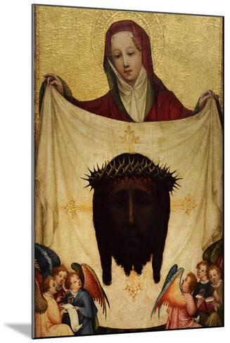 Master of Saint Veronica, St. Veronica with the Holy Kerchief. C. 1420--Mounted Giclee Print
