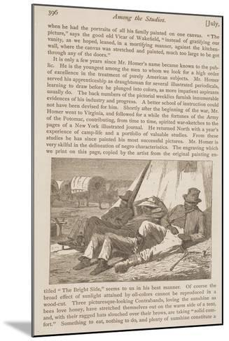 """The Bright Side, Published in """"Our Young Folks,"""" July 1, 1866--Mounted Giclee Print"""