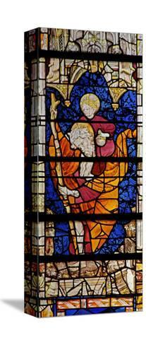 Window W4 Depicting St Christopher--Stretched Canvas Print