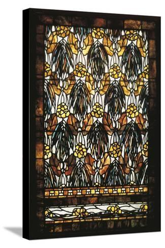 Polychromatic Stained Glass Window--Stretched Canvas Print