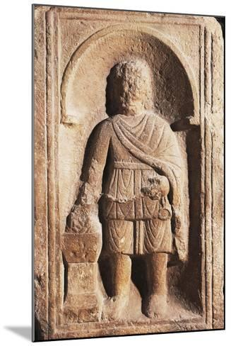 Muzio Scaevola with His Hand Alight, Artifact Uncovered in Intercisa the Ancient Centre of Hungary--Mounted Giclee Print