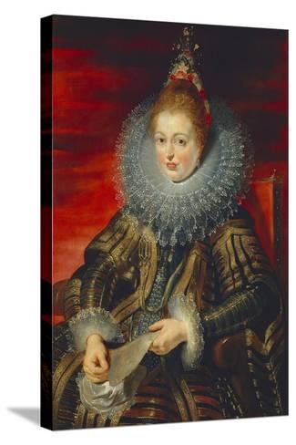 Austria, Vienna, Portrait of Infanta Isabella Clara Eugenia of Habsburg--Stretched Canvas Print