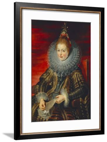 Austria, Vienna, Portrait of Infanta Isabella Clara Eugenia of Habsburg--Framed Art Print