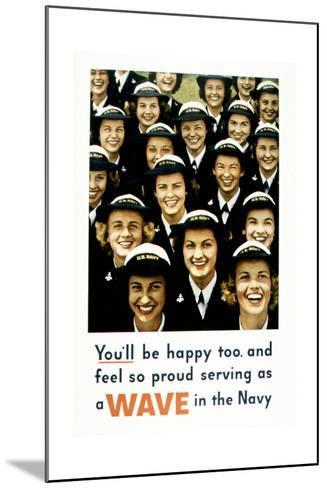 You'Ll Be Happy Too, 1943--Mounted Giclee Print