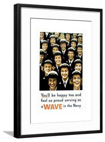 You'Ll Be Happy Too, 1943--Framed Art Print
