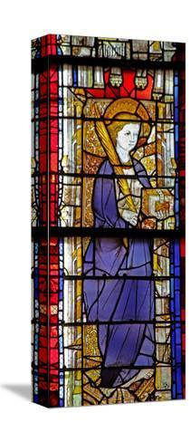 Window W14 Depicting a Saint with a Book--Stretched Canvas Print