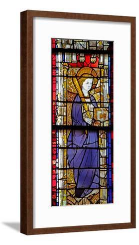 Window W14 Depicting a Saint with a Book--Framed Art Print