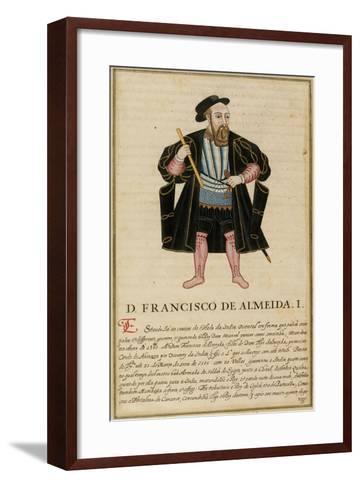 Francisco De Almeida--Framed Art Print