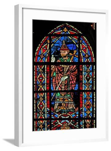 Window W207 Depicting Pope Innocent III--Framed Art Print