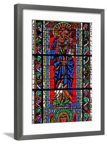 Window W202 Depicting St Attale--Framed Art Print