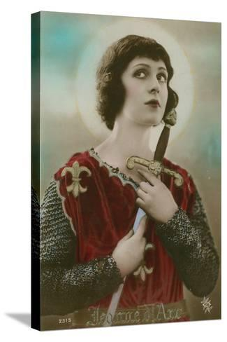 Joan of Arc--Stretched Canvas Print