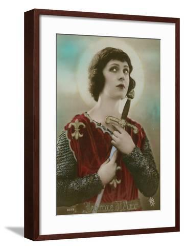 Joan of Arc--Framed Art Print
