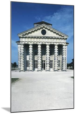 France, Franche-Comte, Arc-Et-Senans, Directors Pavilion at Royal Saltworks--Mounted Giclee Print