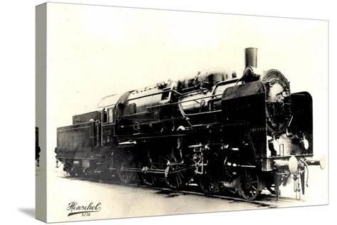 Eisenbahn, Deutschland, Dampflok, 2C3,20445, Henschel--Stretched Canvas Print