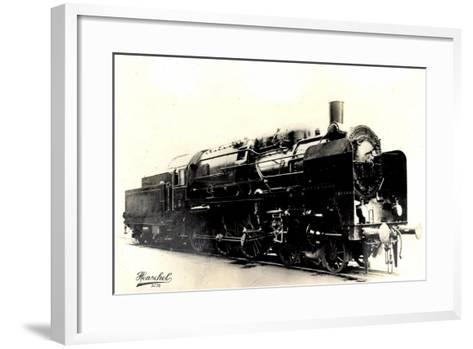 Eisenbahn, Deutschland, Dampflok, 2C3,20445, Henschel--Framed Art Print