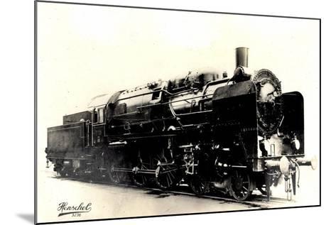 Eisenbahn, Deutschland, Dampflok, 2C3,20445, Henschel--Mounted Giclee Print