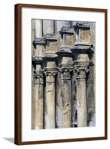 Louis XII Style Columns on Facade of Pavilion, Fontaine-Henry Castle, Greater Caen, France--Framed Art Print
