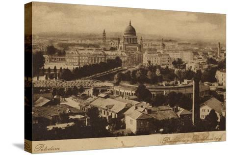 Postcard Depicting a General View of the City of Potsdam--Stretched Canvas Print