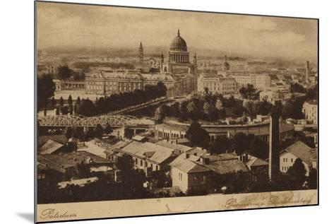 Postcard Depicting a General View of the City of Potsdam--Mounted Photographic Print